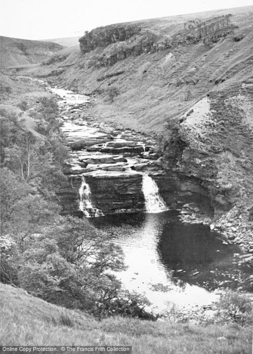 Photo of Gilsland, The Waterfall c.1950