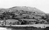 Gilwern, Gilwern Hill from Pant-y-Beilian c1955