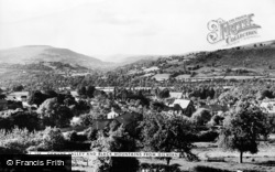 Gilwern, Grwyne Valley And Black Mountains c.1955