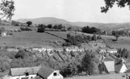 Gilwern, Maesgwartha with Table Mountain in Background c1955