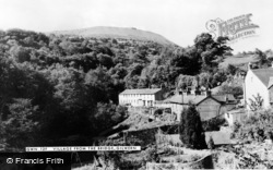 Gilwern, Village From The Bridge c.1960