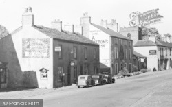 Cafe And White Bull Hotel c.1950, Gisburn