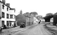 Gisburn, main street 1921