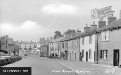 Main Street c.1955, Gisburn