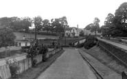Gisburn, Station Approach c1955