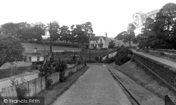 Station Approach c.1955, Gisburn