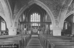 The Church Interior c.1950, Gisburn