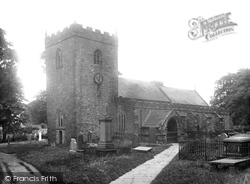 The Church Of St Mary The Virgin 1921, Gisburn