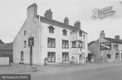 Gisburn, The Ribblesdale Arms Hotel c.1960