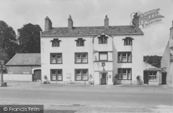 The Ribblesdale Arms Hotel c.1960, Gisburn