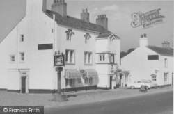 The Ribblesdale Arms, Main Street c.1965, Gisburn