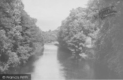 The River Ribble And Old Kennels c.1955, Gisburn