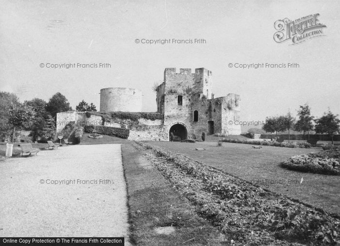 Photo of Gisors, The Castle 1964