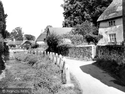 Gittisham, The Stream c.1965
