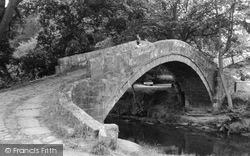 Glaisdale, Beggar's Bridge c.1965