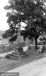 Glaisdale, The Memorial c.1965
