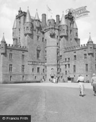 Glamis, Castle 1954