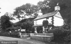 Glandyfi, Bryndfi Tea Garden c.1935