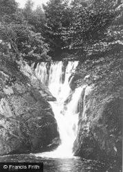 Glandyfi, Furnace Falls, Cwmeinior Valley c.1935