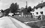 Glangrwyney, the Village c1955