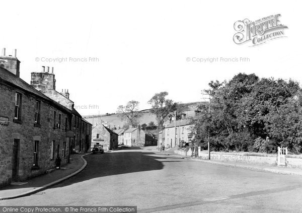 Photo of Glanton, the Village c1950, ref. G212004