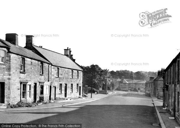 Photo of Glanton, the Village c1950, ref. G212007