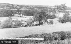 Glasbury On Wye, And Maesllwch Castle c.1955