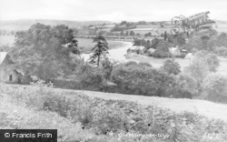 Glasbury On Wye, General View c.1955