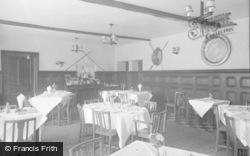 Glasbury On Wye, Maesllwch Arms Hotel, The Dining Room 1960