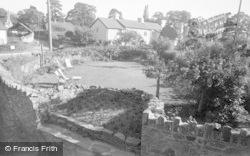 Glasbury On Wye, Maesllwch Arms Hotel, The Gardens 1950