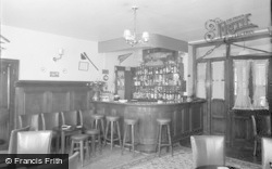Glasbury On Wye, Maesllwch Arms Hotel, The Lounge Bar 1960