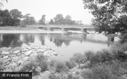 Glasbury On Wye, The Bridge 1960