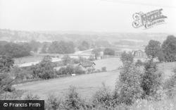 Glasbury On Wye, The Bridge 1960