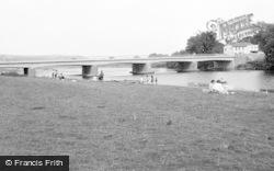 Glasbury On Wye, The Bridge And River 1966