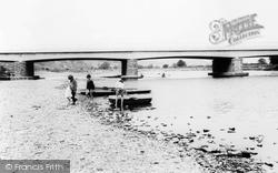 Glasbury On Wye, The Bridge And River Wye 1966