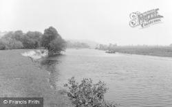 Glasbury On Wye, The River 1960