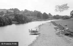 Glasbury On Wye, The River Wye 1966