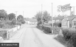 Glasbury On Wye, The Village 1966