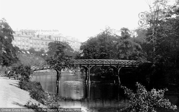 Photo of Glasgow, a view on the Kelvin 1897, ref. 39758