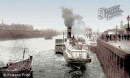 Glasgow, Broomielaw 1897