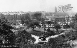 Glasgow, Kelvingrove Park 1897
