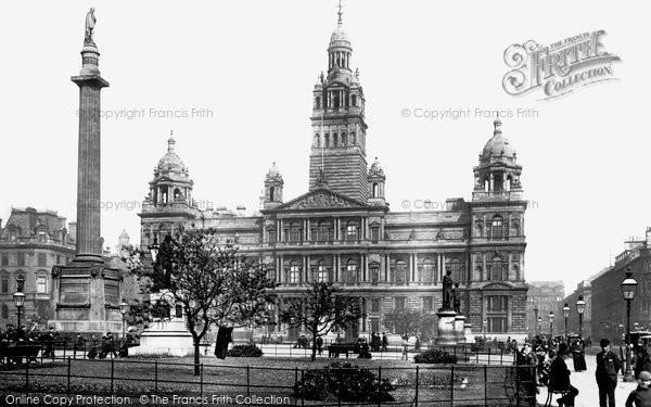 Photo of Glasgow, Municipal Buildings 1897