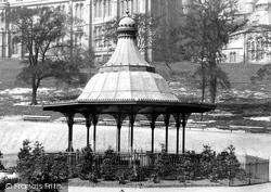Glasgow, The Bandstand, Kelvingrove 1896