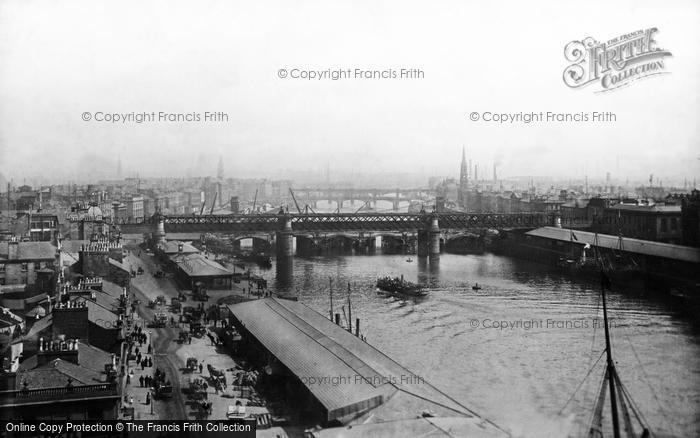 Glasgow, the Broomielaw 1897