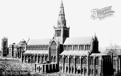 Glasgow, The Cathedral 1897