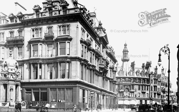 Photo of Glasgow, the Grand Hotel, Charing Cross 1897, ref. 39768