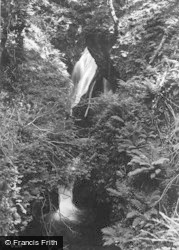 Glaspwll, The Cascade c.1935