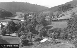 Glaspwll, The Llyfnant Valley c.1940