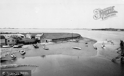 Dock, Fishnet Point c.1955, Glasson