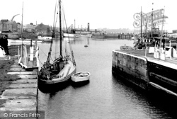 Glasson, Dock From The Locks c.1955